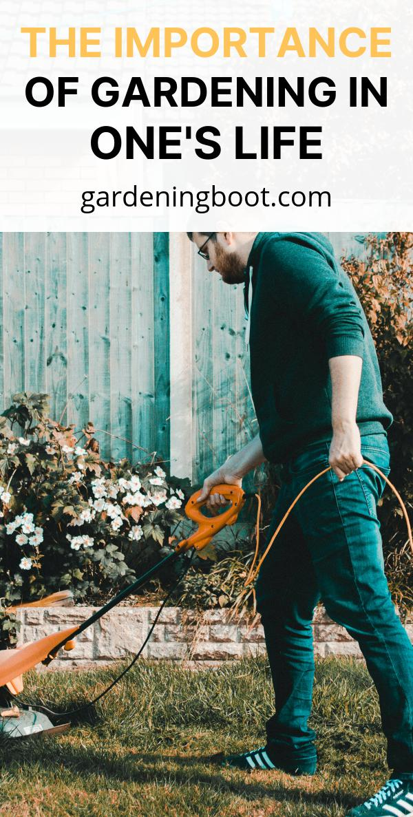 The Importance Of Gardening In One's Life