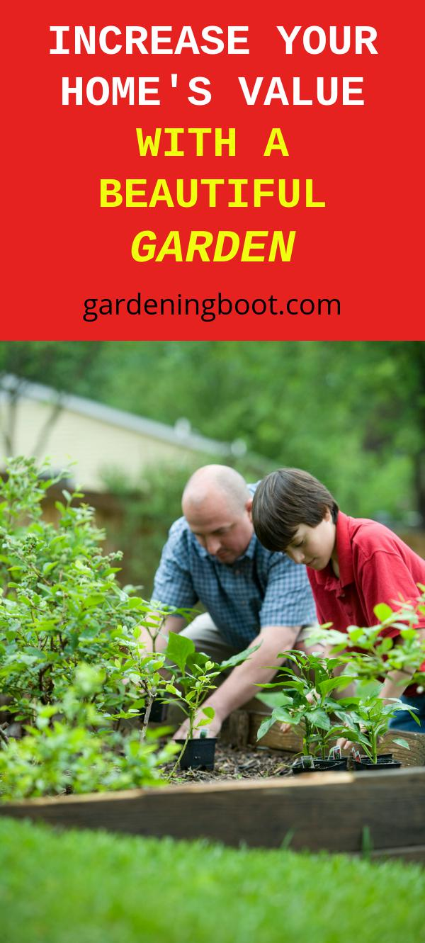 Increase Your Home's Value with A Beautiful Garden